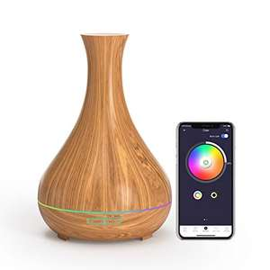 Umidificatore - Diffusore Aromi Smart Meross 400ml Alexa-Google-App