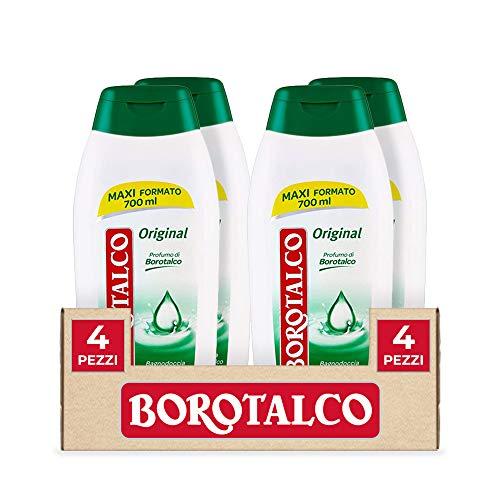4x Borotalco Bagnodoccia Original 700ml