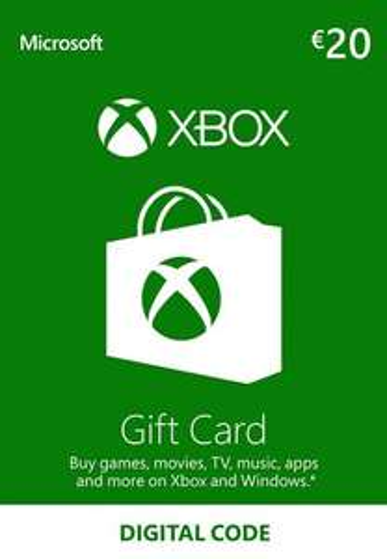 Xbox Live Gift Card 20€