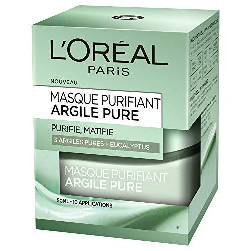 Maschera Viso purificante e opacizzante L'Oréal Paris 50ml