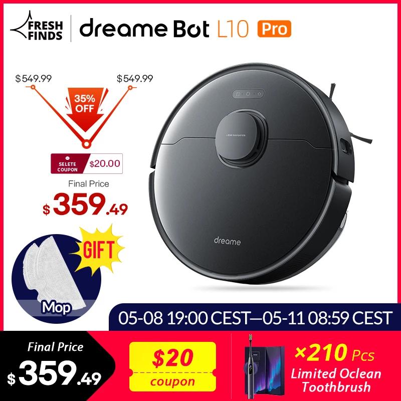 Aspirapolvere Dreame Bot L10 Pro