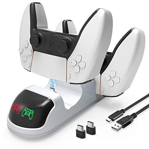 Ricarica Controller PS5 con base LED