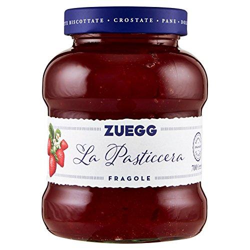 Zuegg - Le Vellutate, Confettura di Fragole - 6 pezzi da 700 g [4200 g] PRENOTABILE