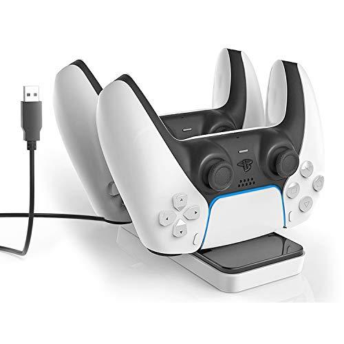 KINGTOP Ricarica per DualSense Wireless Controller Playstation 5