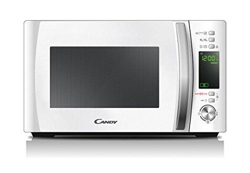 Candy CMXG20DW Microonde con Grill e App Cook-in, 20 Litri, 1.000 watt, Bianco [Classe di efficienza energetica A]