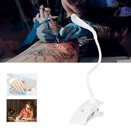 Lampada LED da lettura dimmerabile USB a Morsetto