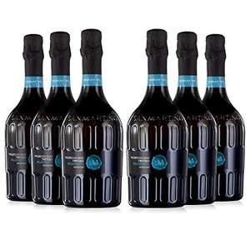 6 x SAN MARTINO Prosecco DOC Treviso Extra Dry 2019/2020