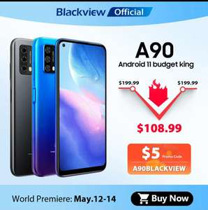 Blackview A90 smartphone 4+64GB Android 11