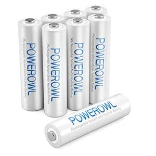 Batterie Ricaricabili AAA con 1000mA 8 Pezzi