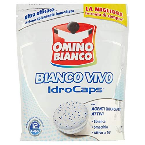 Omino Bianco - Idrocaps White 12 Capsule 240 G - [confezione da 4]