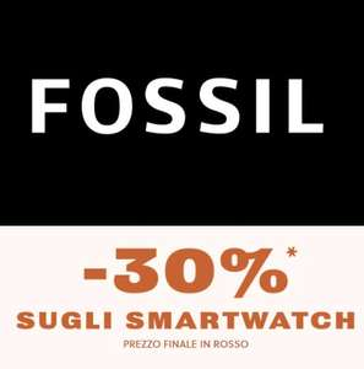 Fossil - 30% di sconto Sugli Smartwatch
