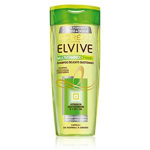 L'Oréal Paris Elvive Multivitaminico Fresh Shampoo 6 x 300 ml