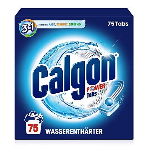75 tabs Calgon Powerball 2 in 1 Tabs - Addolcitore contro calcare e sporcizia nella lavatrice