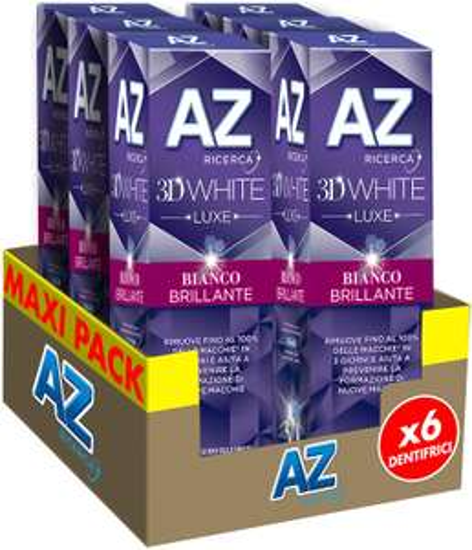 AZ 3D White 6x75ml Dentifricio 6.7€