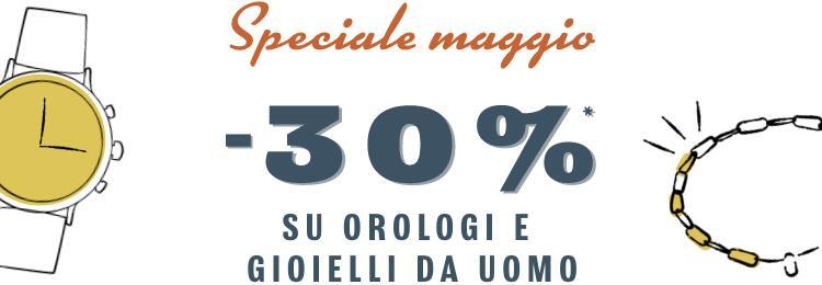 Sconto 30% Orologi e Gioielli Fossil