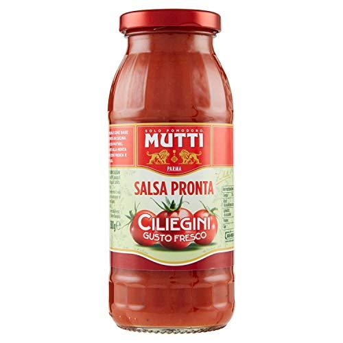 Mutti Salsa Pronta di Pomodorini Ciliegini/Mutti Salsa Pronta Classica, 300g