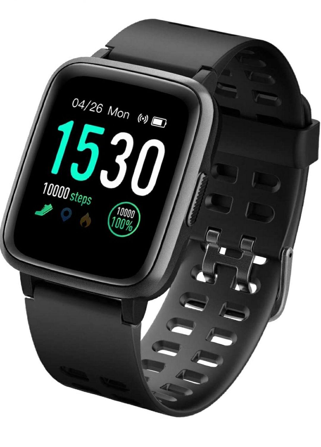 LATEC Fitness Tracker Smartwatch Impermeabile IP68