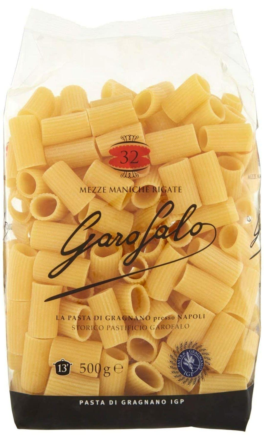 Garofalo Mezze Maniche Rigate, 500g