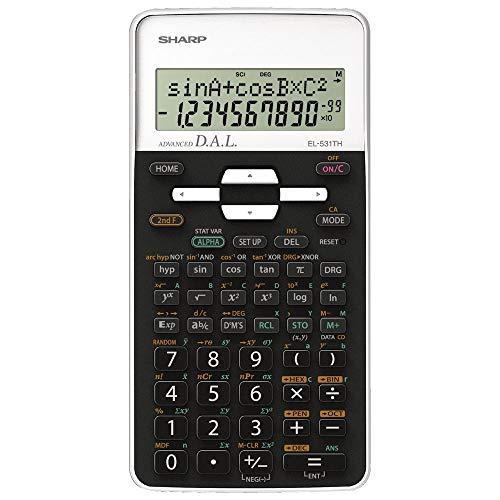 Sharp SH-EL531THBWH calcolatrice scientifica