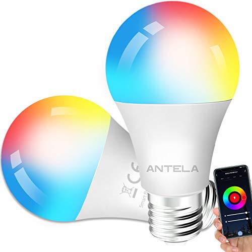 Lampadine LED Alexa Inteligente WiFi E27 [2021Edition]