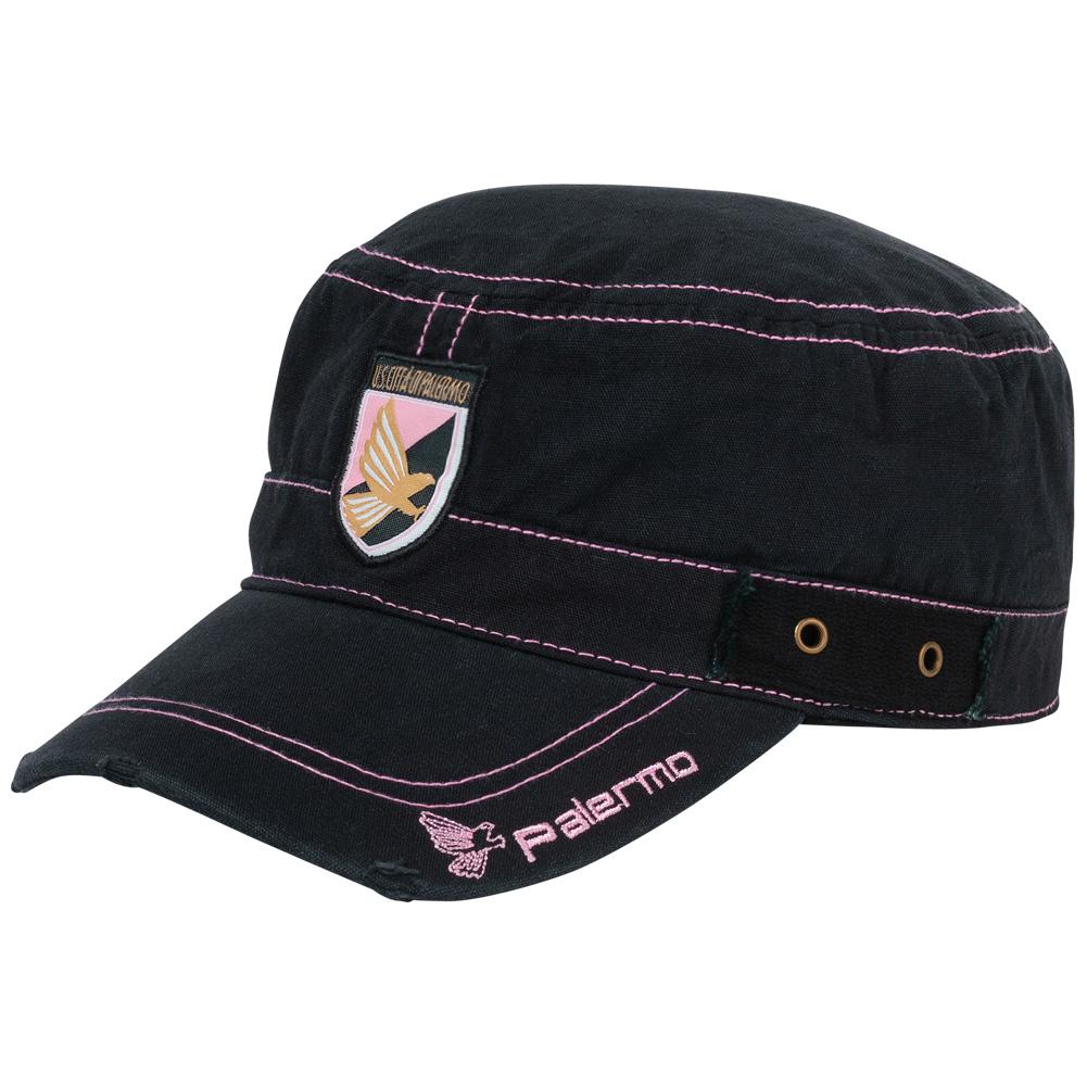Palermo Calcio Legea Cappellino NERO-BIANCO- GRIGIO