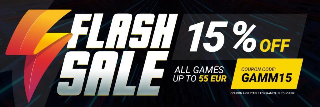 Sconto 15% su tutti i giochi fino a 55€