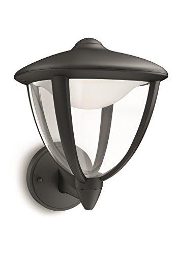 Philips Robin Applique LED, Nero [Classe di efficienza energetica A+]
