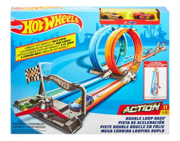 Hot Wheels Double Loop Dash