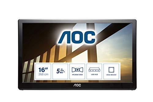"Monitor Portatile 15.6"" AOC Display IPS"