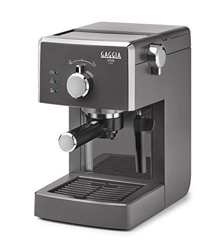Gaggia Viva Chic Industrial Grey Macchina Manuale per Il caffè, 1025 W, 1 Liter, ABS