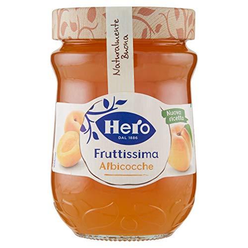 Hero Fruttissima Confettura di Albicocche Naturalmente Buona - 2760 gr TOTALE 8 vasetti