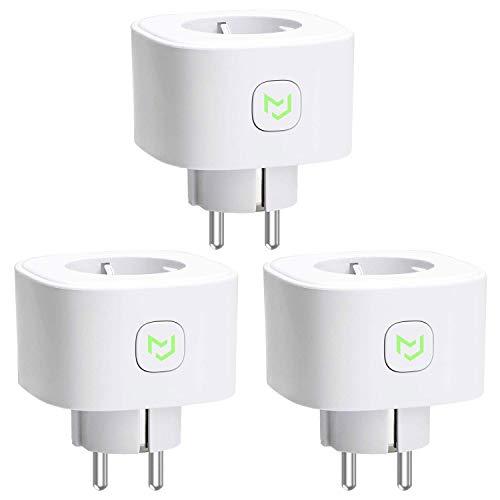 3X Presa Intelligente Wifi Smart Plug 16A 3680W