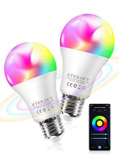 2 Lampadine Smart RGB 9W
