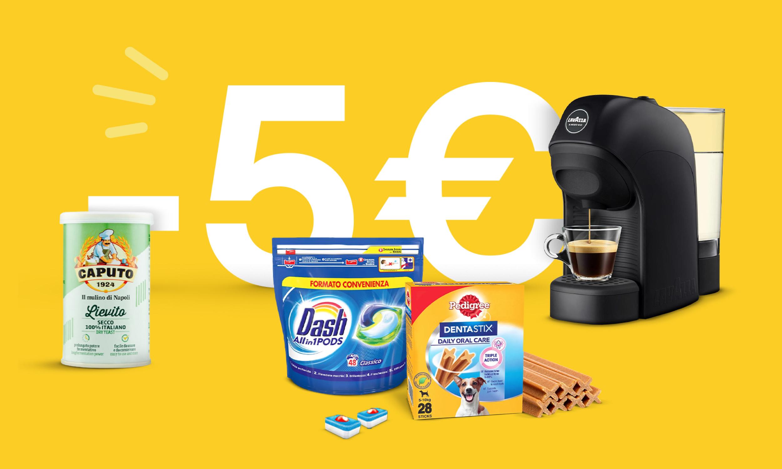 5€ Spesa Facile Ebay