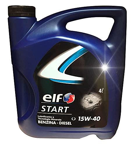 OLIO MOTORE ELF START 15W40 LT 4 - LUBEX 233