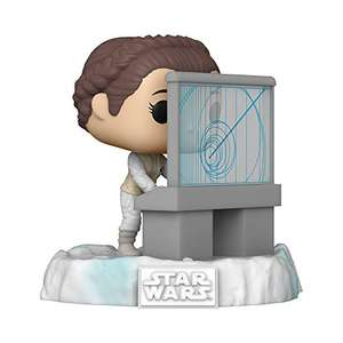 Funko 45901 POP Deluxe Star Wars - Leia, Amazon Exclusive