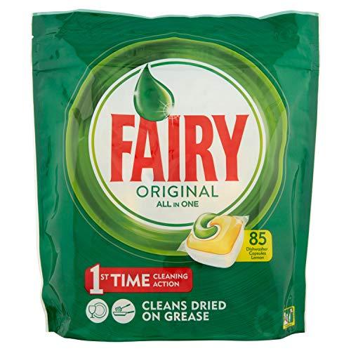 Fairy Original Tutto in Uno 85 Pastiglie per Lavastoviglie
