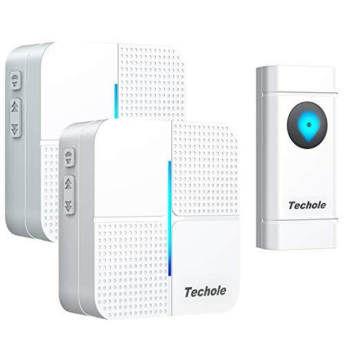 Campanello Wireless Impermeabile IP55, 300Mt