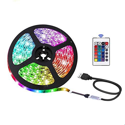 Striscia LED USB con telecomando, 3 m, 5050 RGB