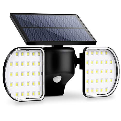 Luce Solare Esterno 56 Led + Sensore