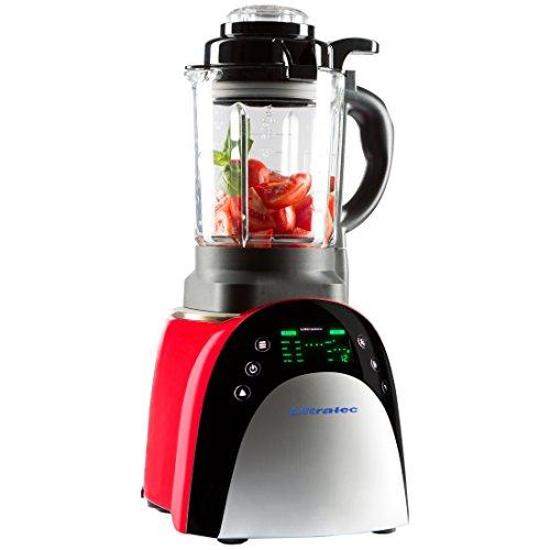 Ultratec Mixer con funzione di riscaldamento – elettrodomestico multifunzione da cucina con touchscreen - Usato/Buone condizioni