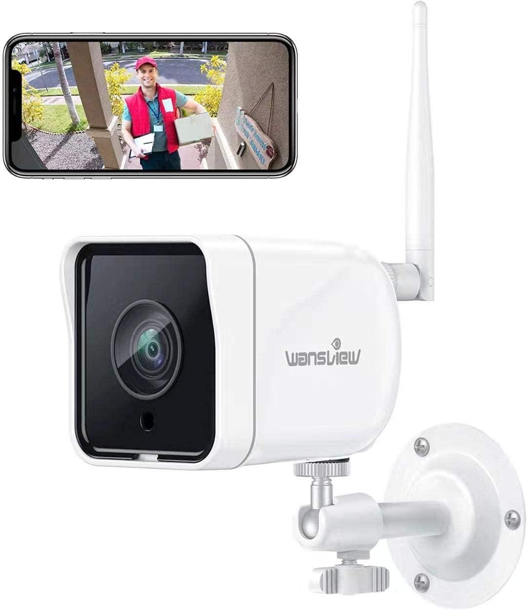 Telecamera 1080P da Esterno WiFi 21.9€