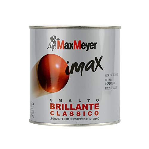 MaxMeyer Smalto brillante a solvente per ferro e legno Imax TURCHESE 0,5 L