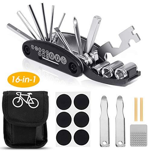Kit Riparazione Bicicletta Riparazione 16 in 1