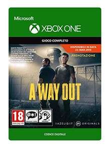 A Way Out Standard   Xbox One - Codice download