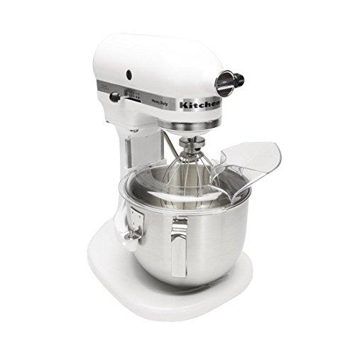 Kitchenaid 5KPM5 - Miscelatore planetario, 4,8 l, colore: Bianco
