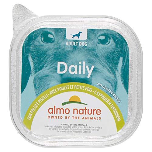 9x300gr Almo Nature Daily con Pollo & Piselli