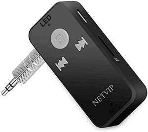 Ricevitore Bluetooth con 3,5mm Jack auto AUX Microfono