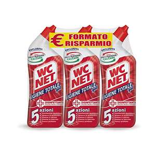 Wc Net - Igiene Totale Gel 700 ml x 3 confezioni