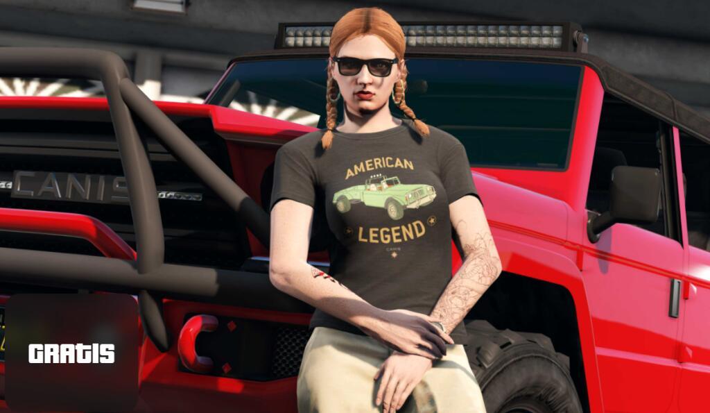GTA Online - 100.000 GTA$ e maglietta Canis American Legend